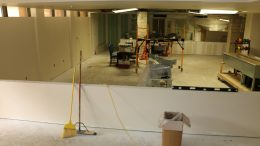 cafeteria renovation phase 1