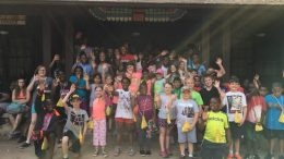 Campers from the 2017 Texas Asthma Camp