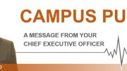 Campus Pulse - A message from your Chief Executive Officer, Cody Boyd