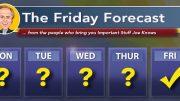 The Friday Forecast