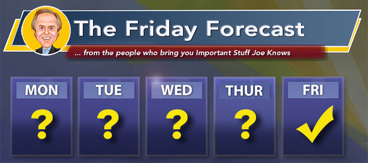 The Friday Forecast